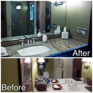 Bathroom Remodel Before and After Sartell MN