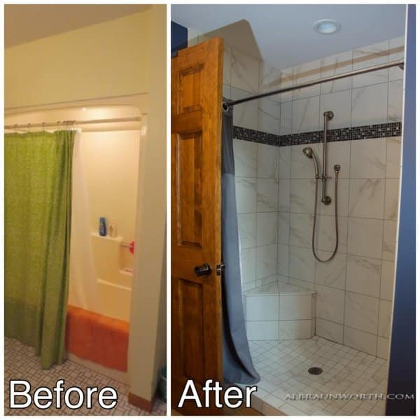 New Shower Remodel Central MN