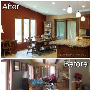Dining Room Remodel Clearwater MN