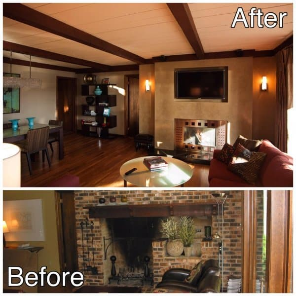 Dining and Fireplace Update Remodeling St Cloud MN