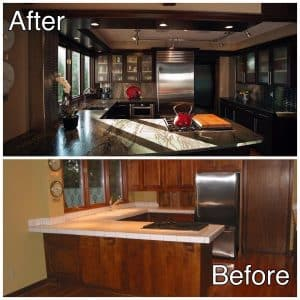 Kitchen Design Sartell MN Before and After