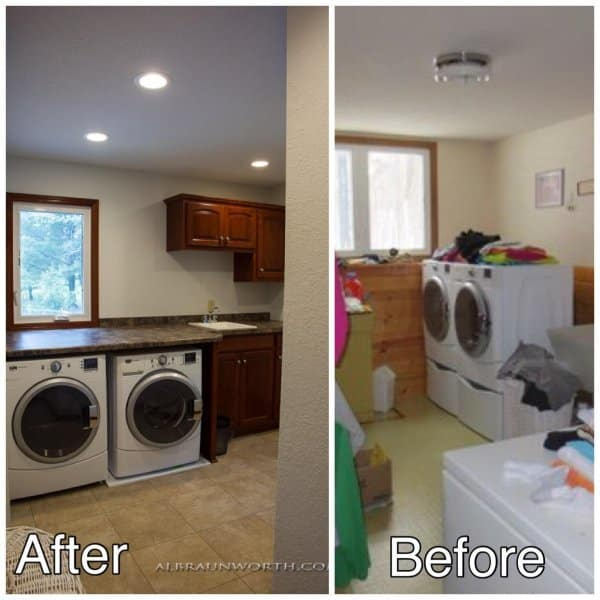 Laundry Room Redo Clearwater MN