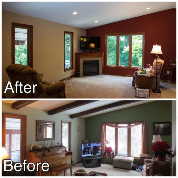 Living Room Remodeling