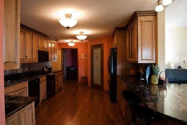 Kitchen After Wood Floor