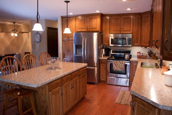 After Kitchen Remodel with Island