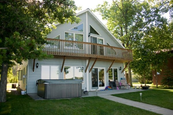 Cabin Remodel Front