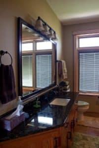 New home bathroom vanity