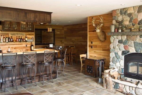 New home basement bar