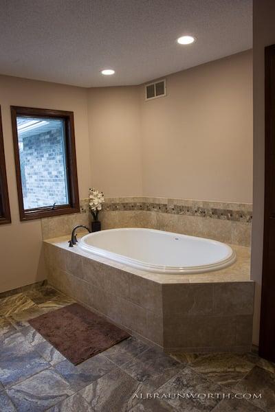 Master Bathroom Tub after