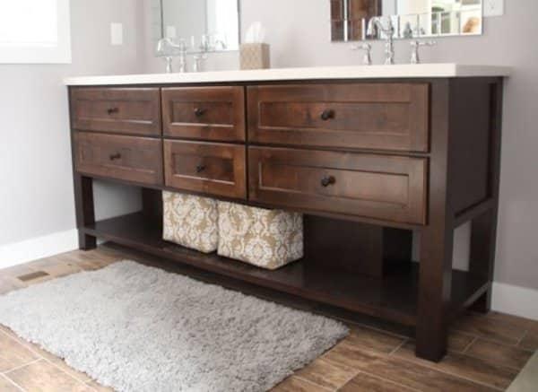 Master Bathroom Cabinet