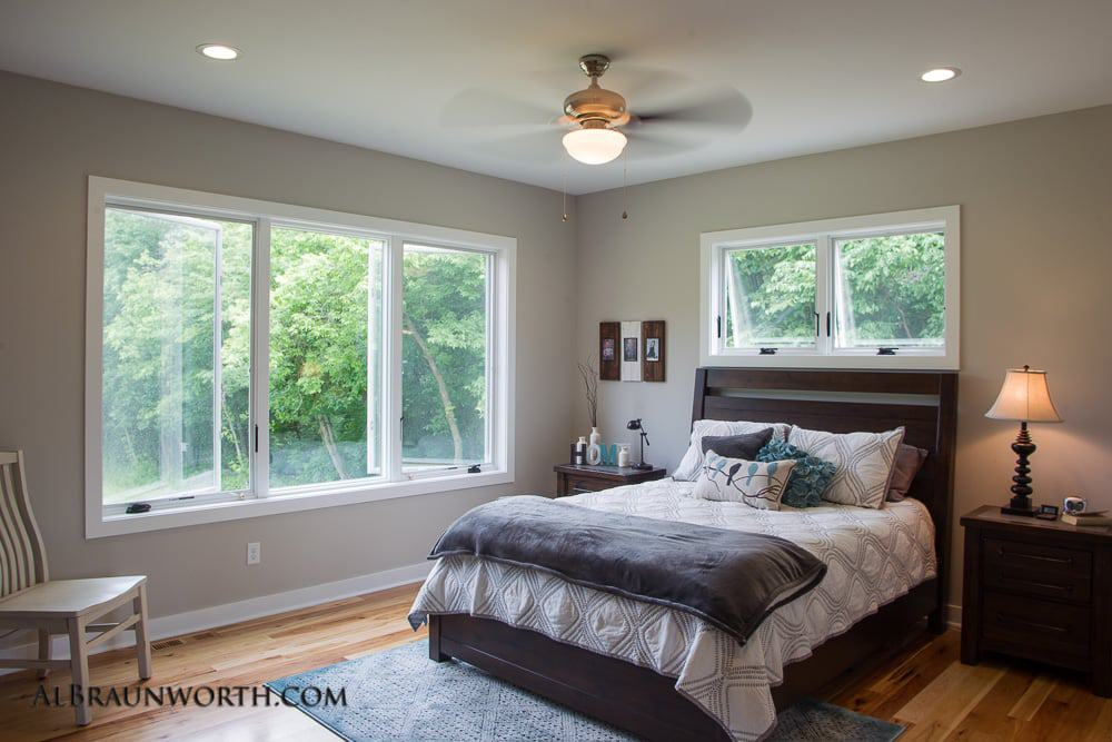Custom Built Home Master Bedroom