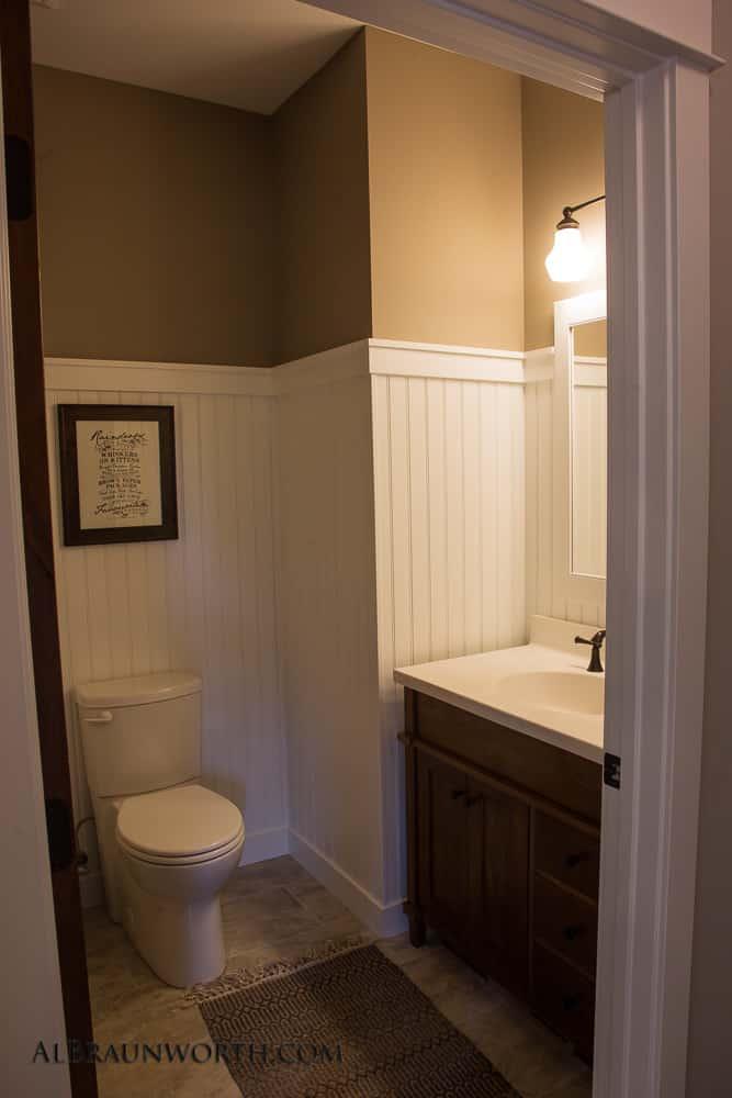 Custom Built Home Guest Bath