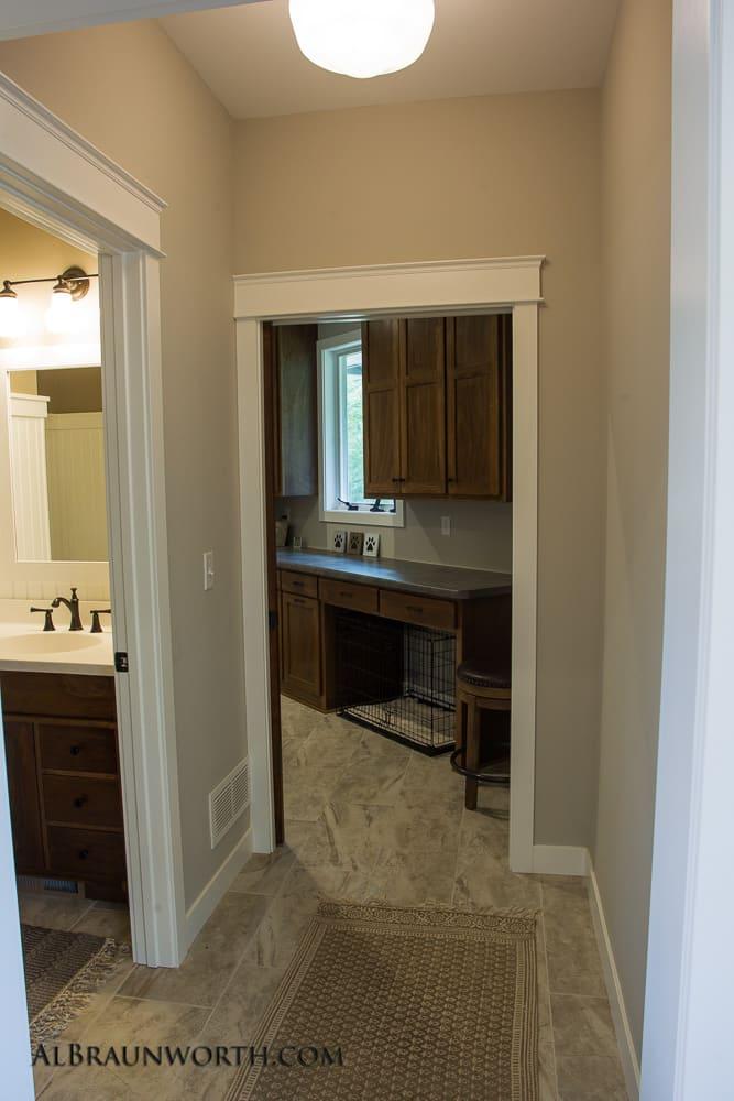 Custom Built Home Hallway