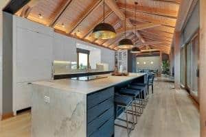 Custom Home Kitchen island