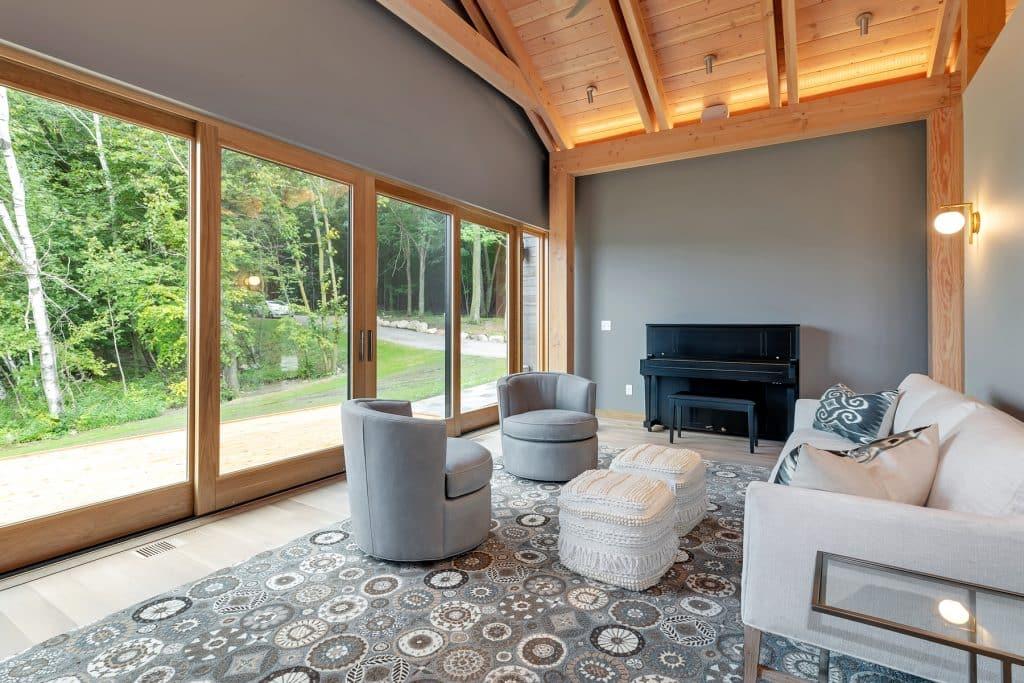 2018 Tour of Homes Bonus Room with Sliding Patio Doors