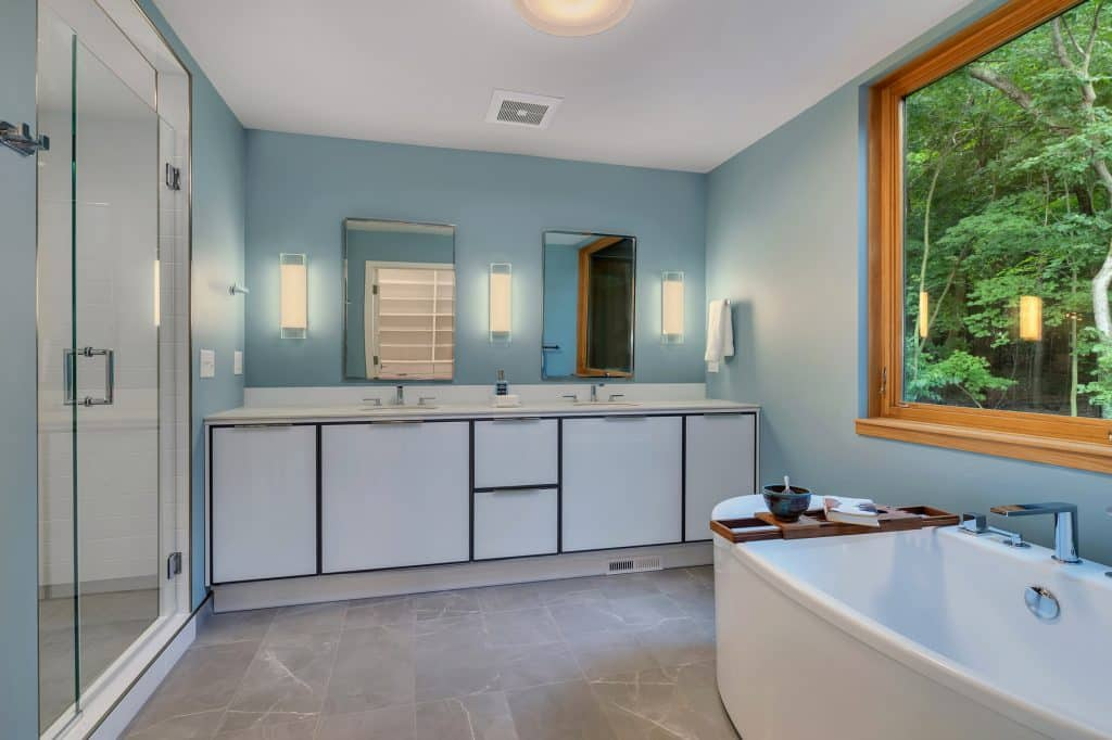 2018 Tour of Homes Master Bath Double Vanity
