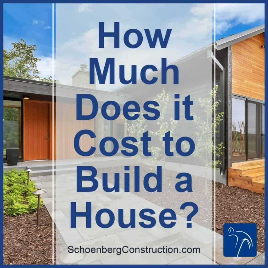 How Much Does It Cost to Build House