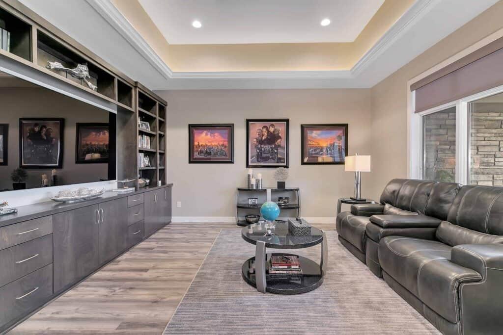 Dream Custom Patio Home Bonus Room