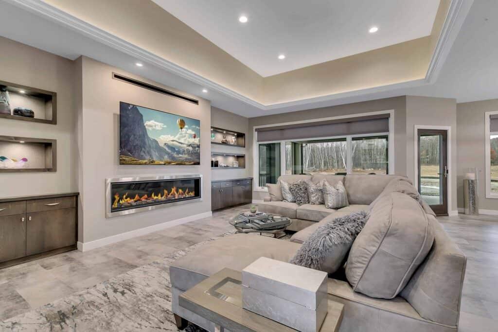 Dream Custom Patio Home Living Room 3
