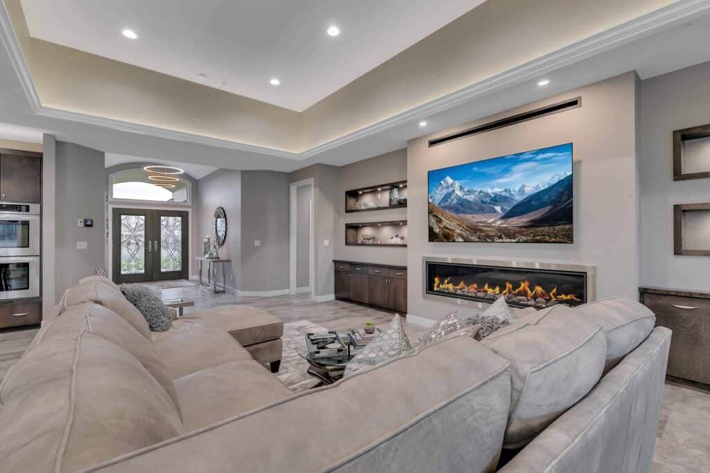 Dream Custom Patio Home Living Room 2
