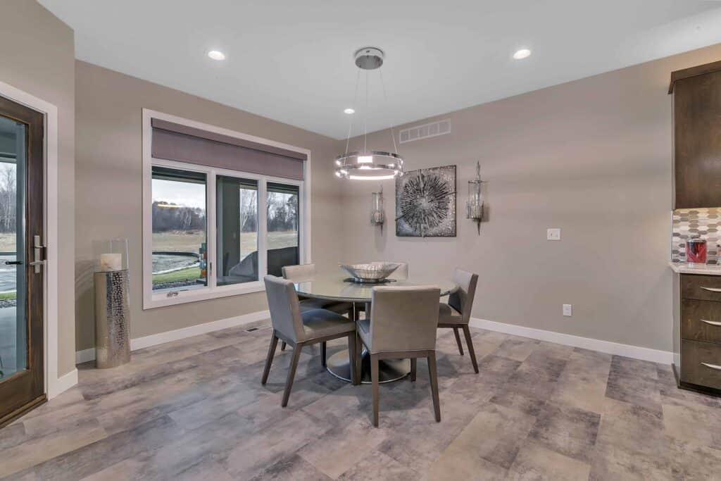 Dream Custom Patio Home Dining Room