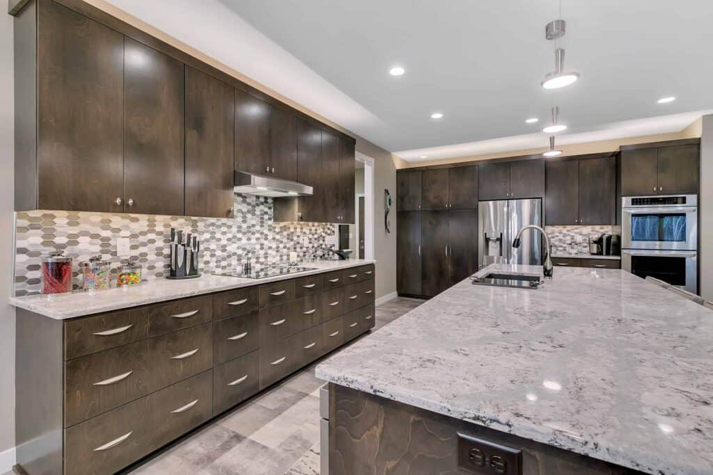 Dream Custom Patio Home Countertops and Cabinets