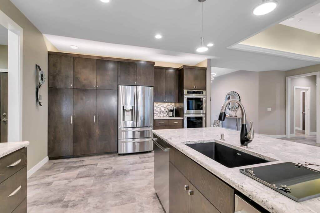 Dream Custom Patio Home Kitchen Cabinets and Appliances