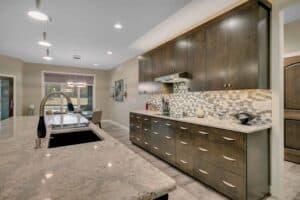 Custom Home Kitchen cabinets