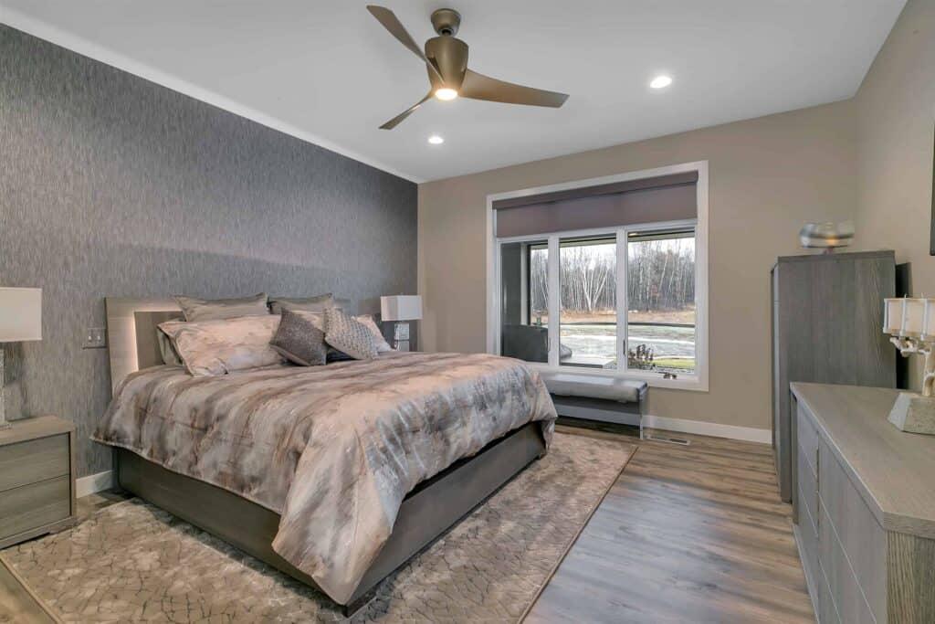 Dream Custom Patio Home Master Bedroom