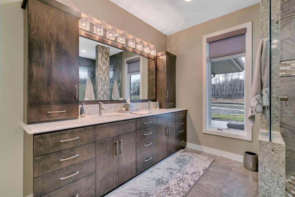 Dream Custom Patio Home Master Bath
