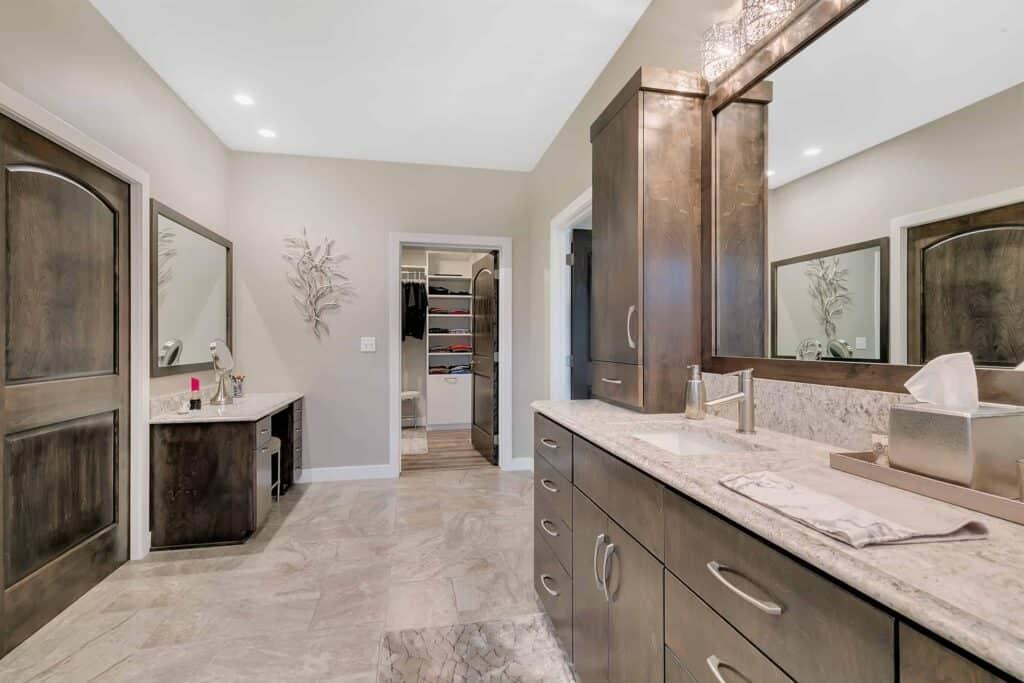 Dream Custom Patio Home Master Bathroom